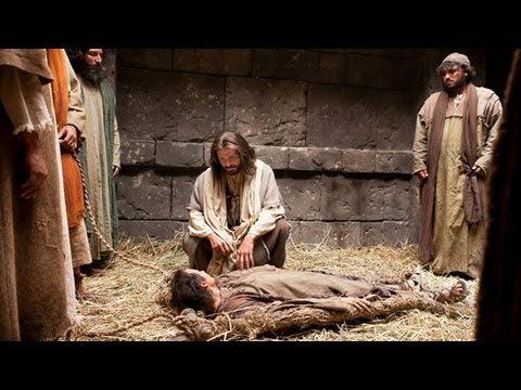 Jesus Forgives Sins and Heals a Man Stricken with Palsy